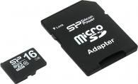 Карта памяти MicroSD 16Gb Silicon Power SP016GBSTH010V10-SP