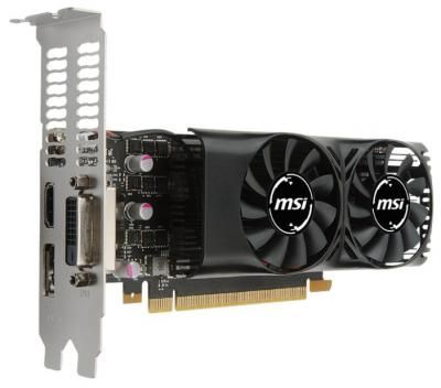 Видеокарта MSI GeForce GTX 1050 Ti LP / 4Gb / RTL