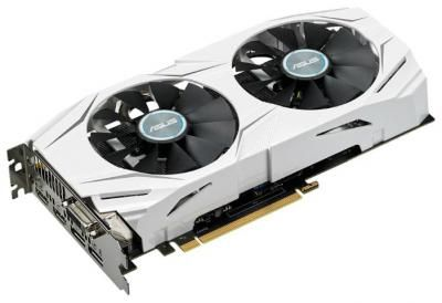 Видеокарта ASUS GeForce GTX1060 DUAL-GTX1060-3G / 3 Gb