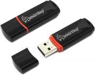 Накопитель Flash USB Smartbuy 4Gb Crown Black