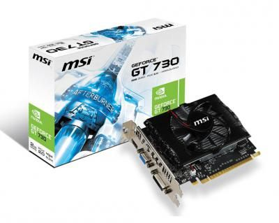 Видеокарта MSI GeForce GT730 N730-2GD3V2 / GDDR3 / 2 Gb / RTL