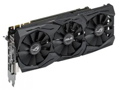 Видеокарта ASUS GeForce GTX1070 STRIX-GTX1070-8G-GAMING / 8Gb / RTL