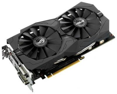 Видеокарта ASUS GeForce GTX 1050 Ti Strix Gaming / 4Gb / RTL